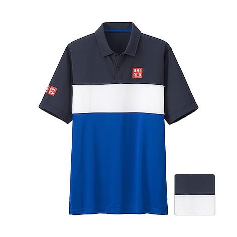 ユニクロ MEN NK ドライEXポロシャツ(半袖)15FRA+EC - UNIQLO ユニクロ